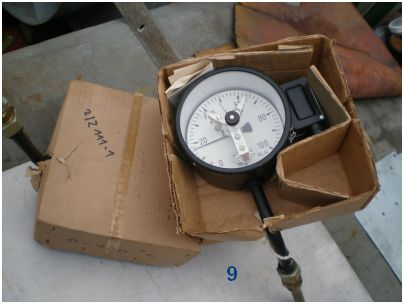 Temperaturmanometer